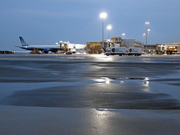 Paving at Logan Airport